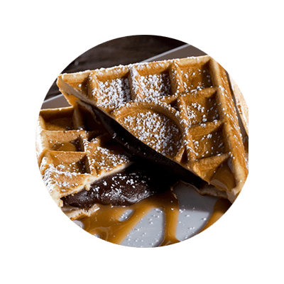 Prince Waffles Chocolate Filled Waffles