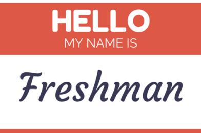 Freshman Success:  Strong Start, Successful Finish