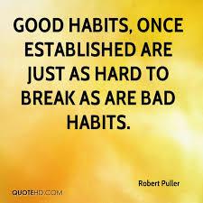 'Habits' Open The Secret Door to Balance