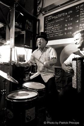 DRÜ @ Les Amis Resli Burri, Mario Batkovic & Reverend Beat-Man © 29.09.2016 Patrick Principe