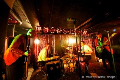 The Monsters @ Sedel © 19.03.2016 Patrick Principe