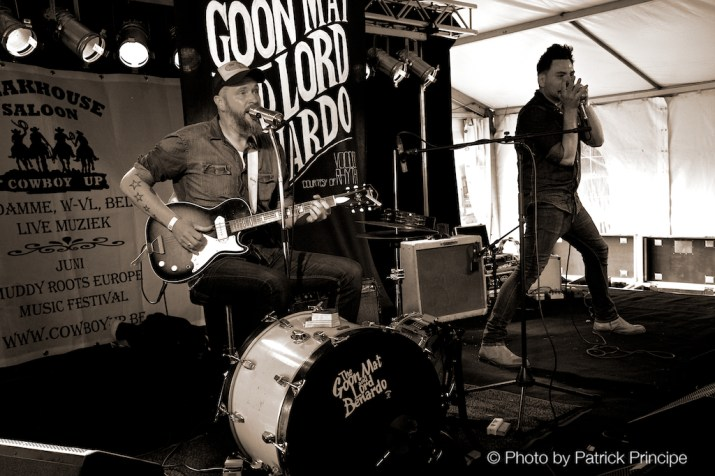 The Goon Matt & Lord Benardo @ Muddy Roots 2015, Belgien © 19.06.2015 Patrick Principe