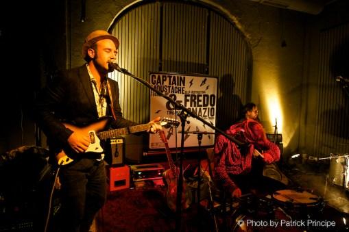 Two Acts - One Stage! Captain Moustache & Fredo Ignazio & Reverend Deadeye @ Veka, Glarus © 26.09.2015 Patrick Principe