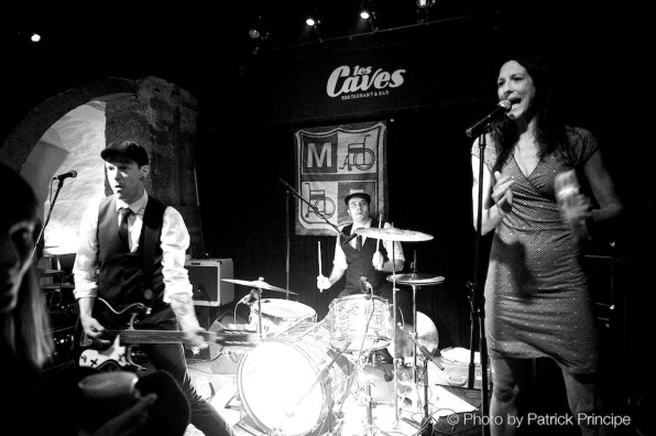 The Monofones @ Les Caves © 04.04.2015 Patrick Principe