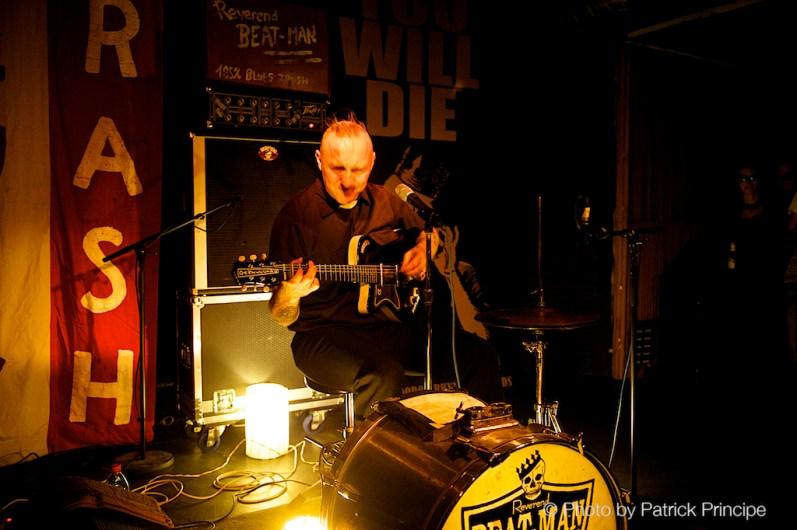 Reverend Beat-Man @ Ferme-Asile © 05.12.2015 Patrick Principe