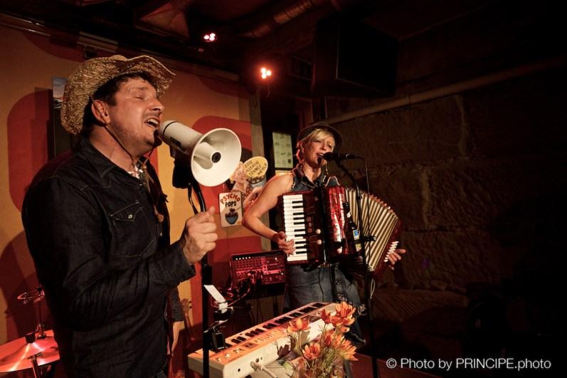 Thee Watzloves @ Café Kairo © 28.10.2017 Patrick Principe