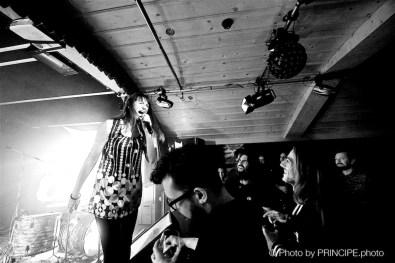 The Monofones @ Das O © 02.12.2017 Patrick Principe
