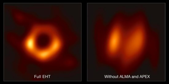 Black Hole Seen Clearly in Historic New Direct Image BH4-EHT-Collaboration-1