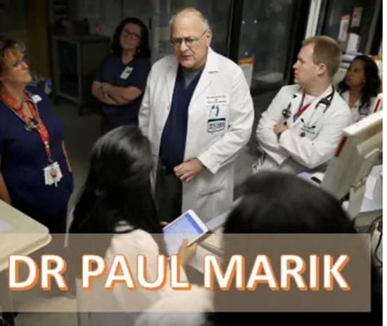 Dr. Paul Marik Discusses Ivermectin and Vitamin D Mmnn