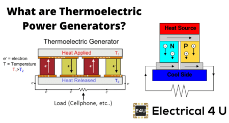 Possible New solution to convert waste heat into energy Thermoelectric-Power-Generators-Electrical4U-450x241