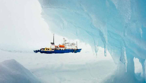 arctic ice trap