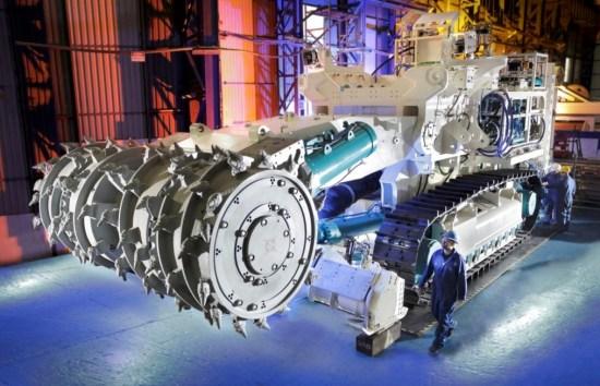A deep-sea mining machine