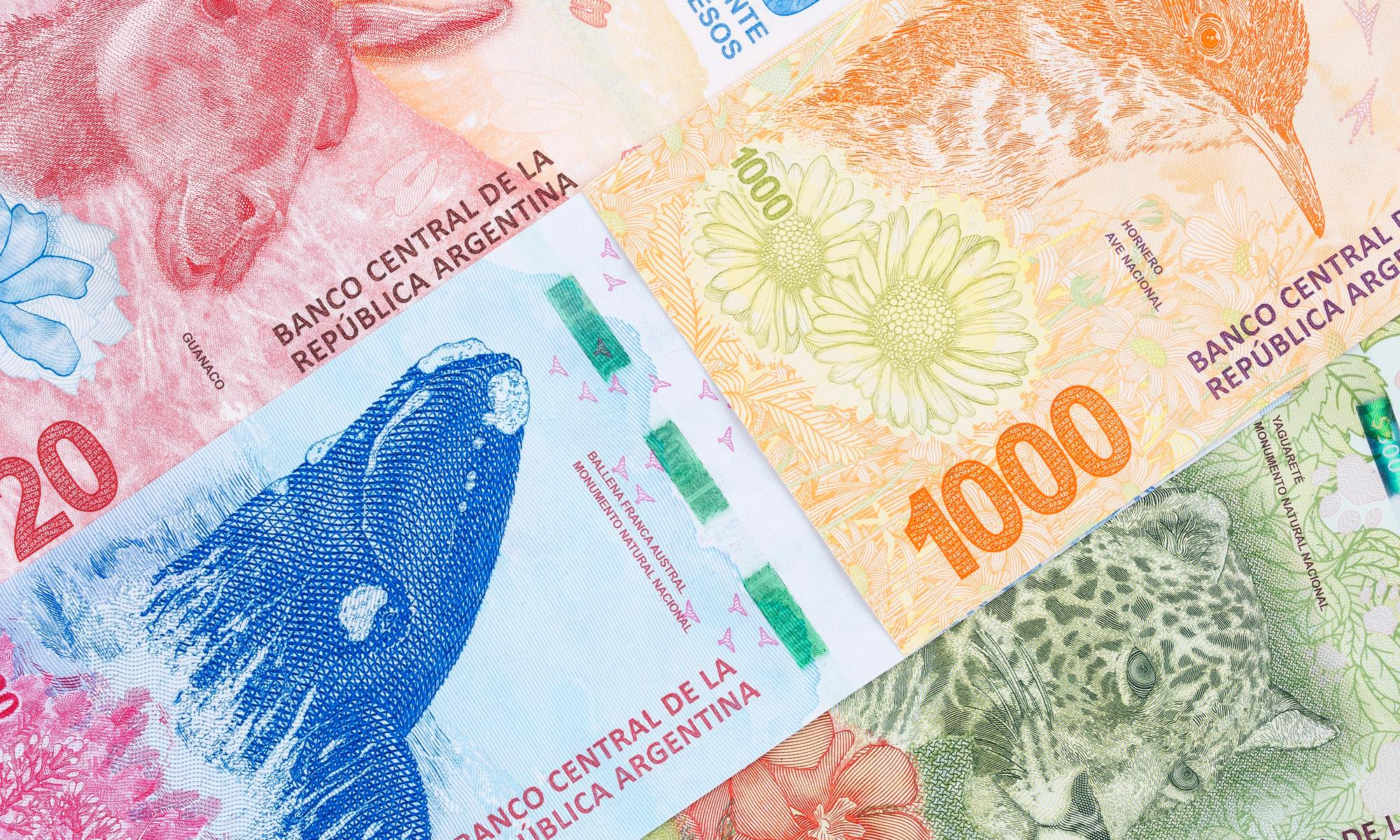 Argentine money, a background