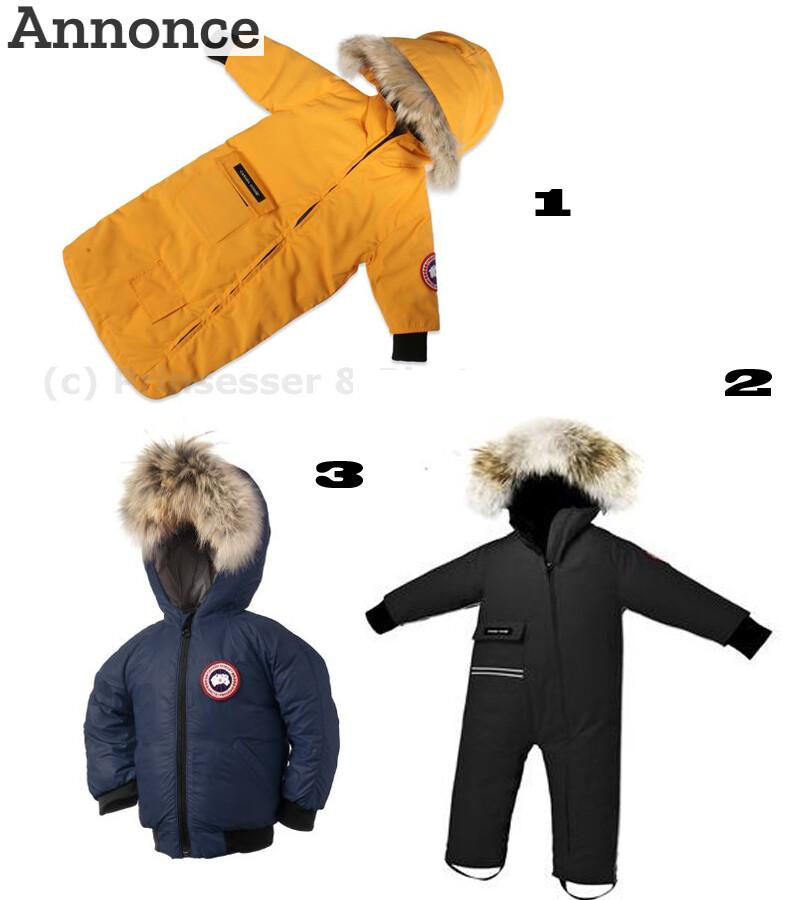 canada goose jakke til børn