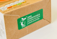 We can manufacture labels a premium paper which is EN13432 approved, it is 100% compostable, suitable for food and waste recycling. A perfect solution for the environment.