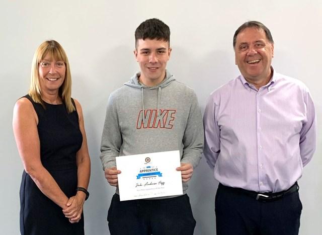 Print Scotland apprentice winner 2021 - Jake Anderson Hogg