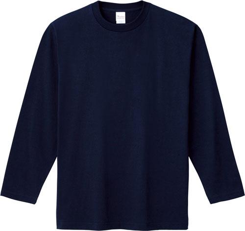00101-LVC ヘビーウェイト長袖リブ無しカラーTシャツ