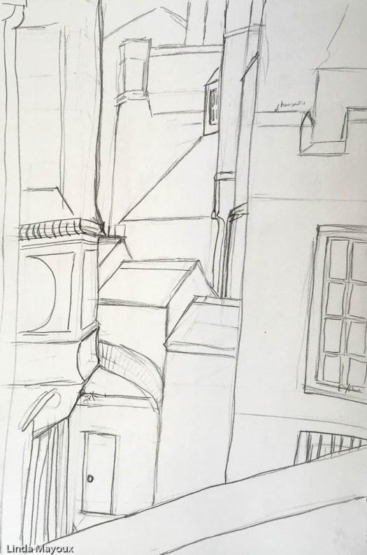 Urban Abstract scene