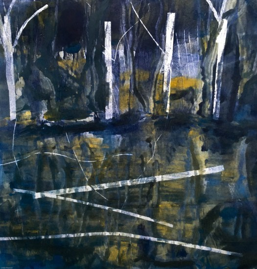 Willows ice moonlight draft