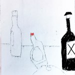 5 Bottle Sketch