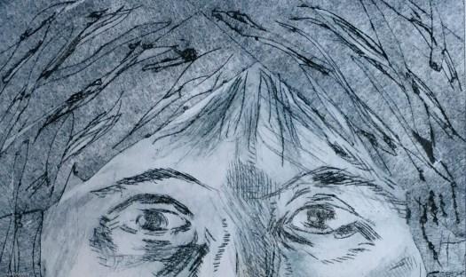 Self Portrait: iPad reflection
