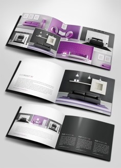 44 creative brochure designs   print24 Blog Professional A5 Catalogue Brochure  Designer  24beyond