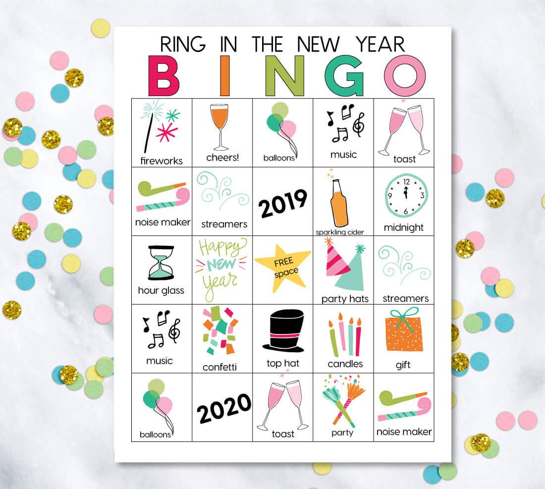 Printable Chinese New Year Bingo Cards