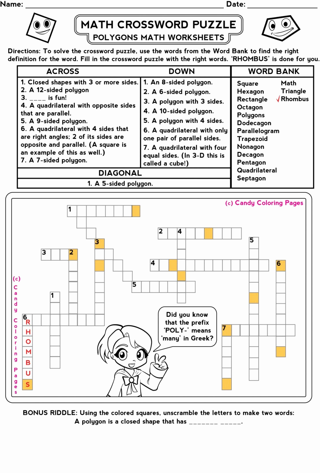 4th Grade Math Riddles Best Of Magic Square Worksheets