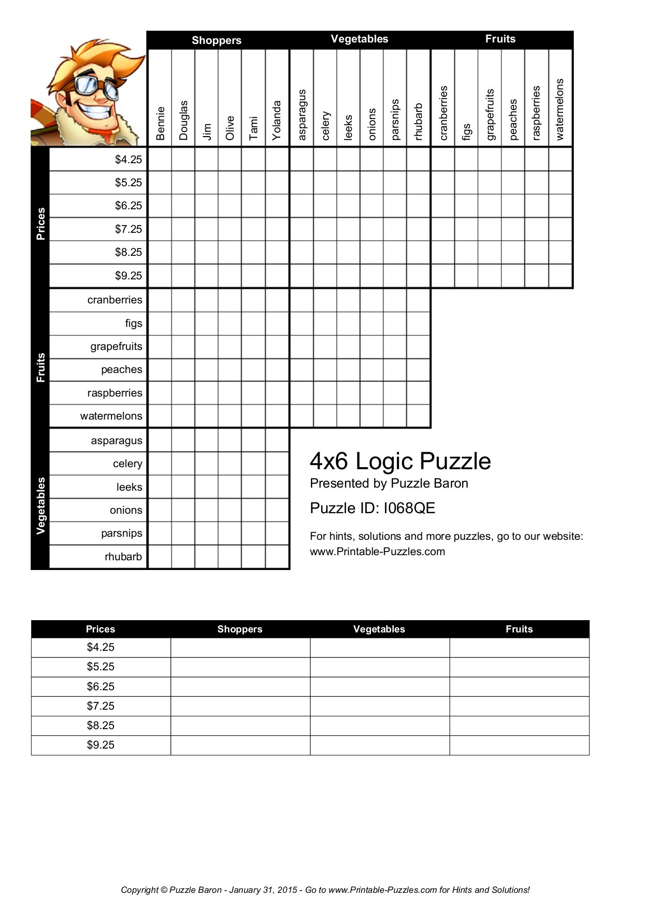 It is a picture of Logic Puzzles for Kids Printable intended for beginner programmer