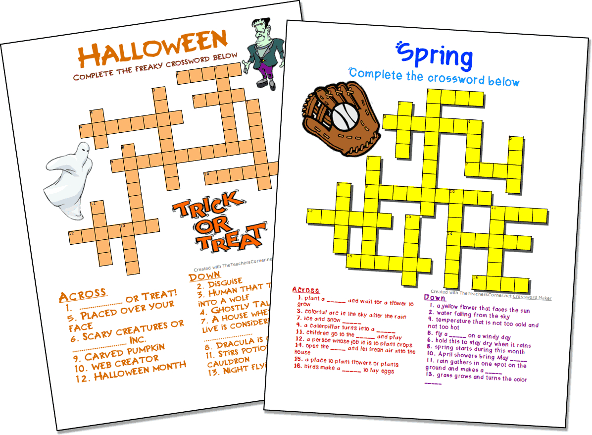 Printable French Puzzle