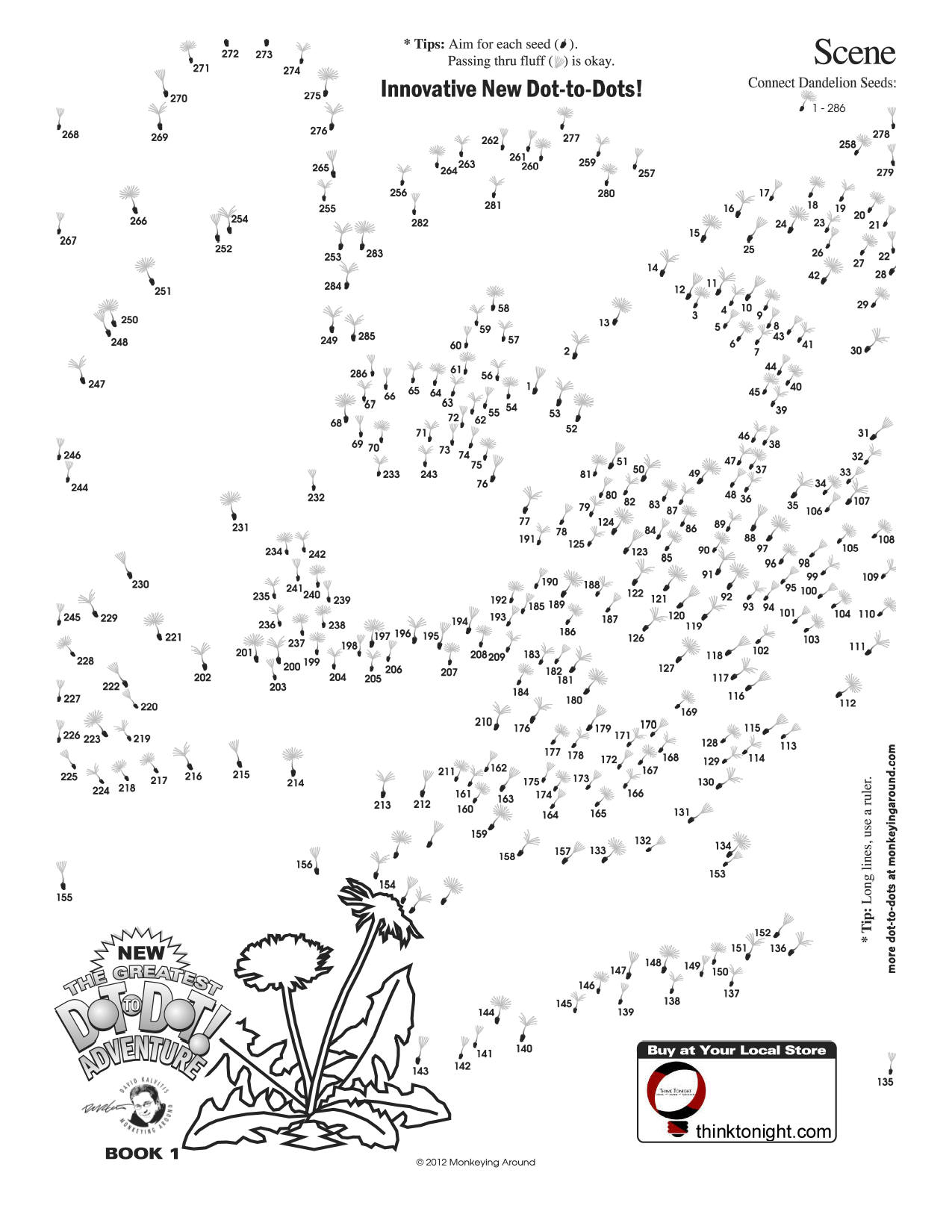 Downloadable Dot To Dot Puzzles