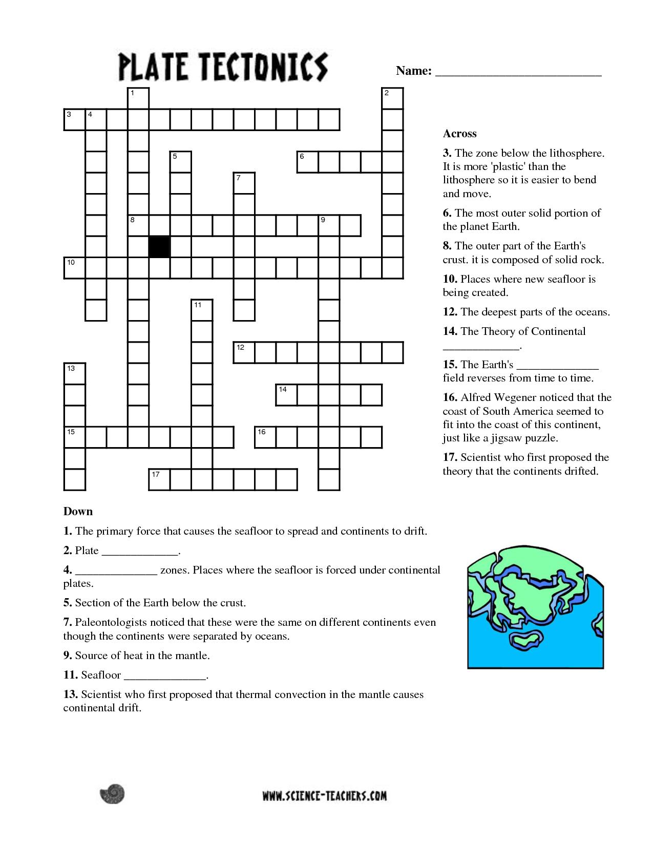 Printable Science Puzzle