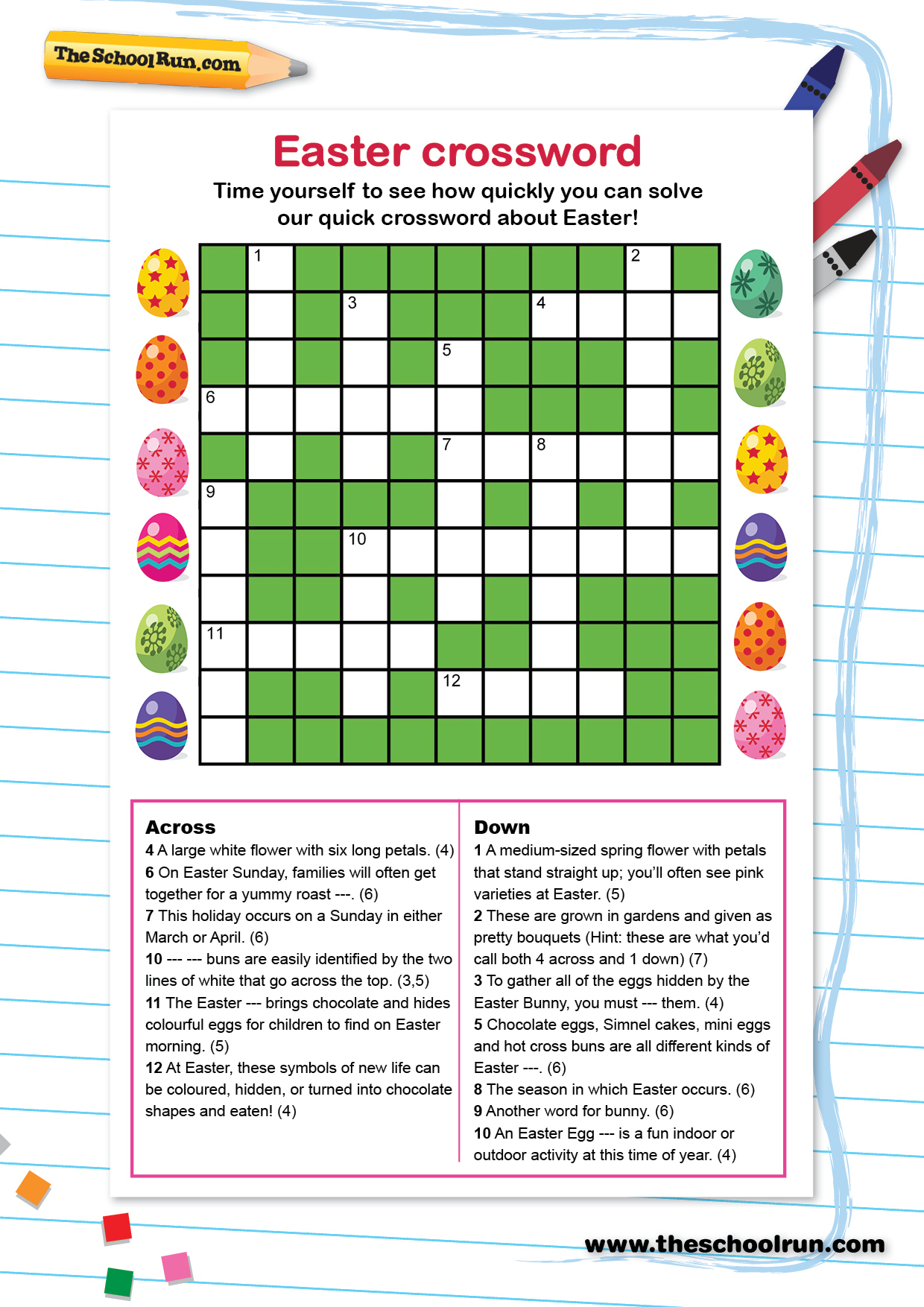 Printable Word Puzzles For 7 Year Olds