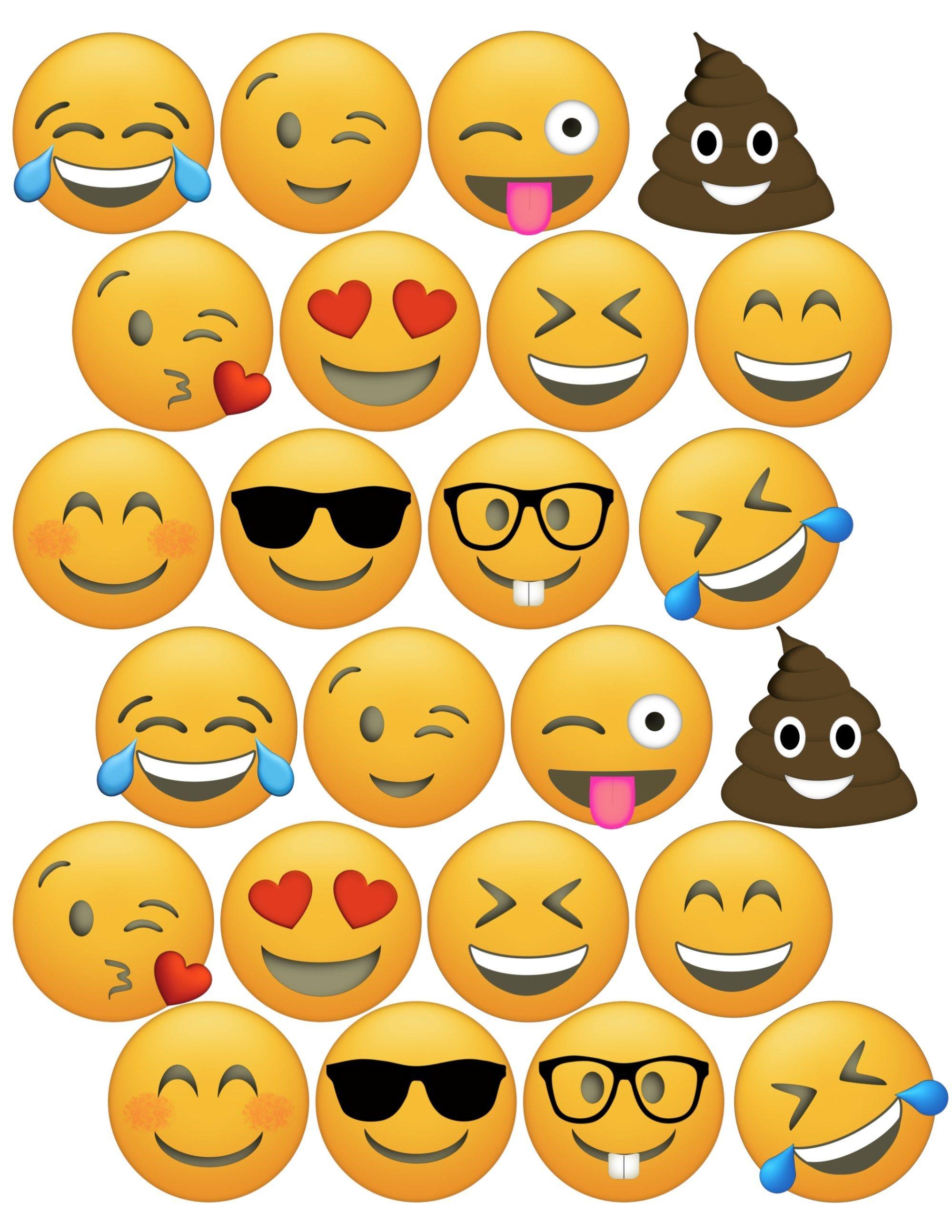 Free Emoji Printables