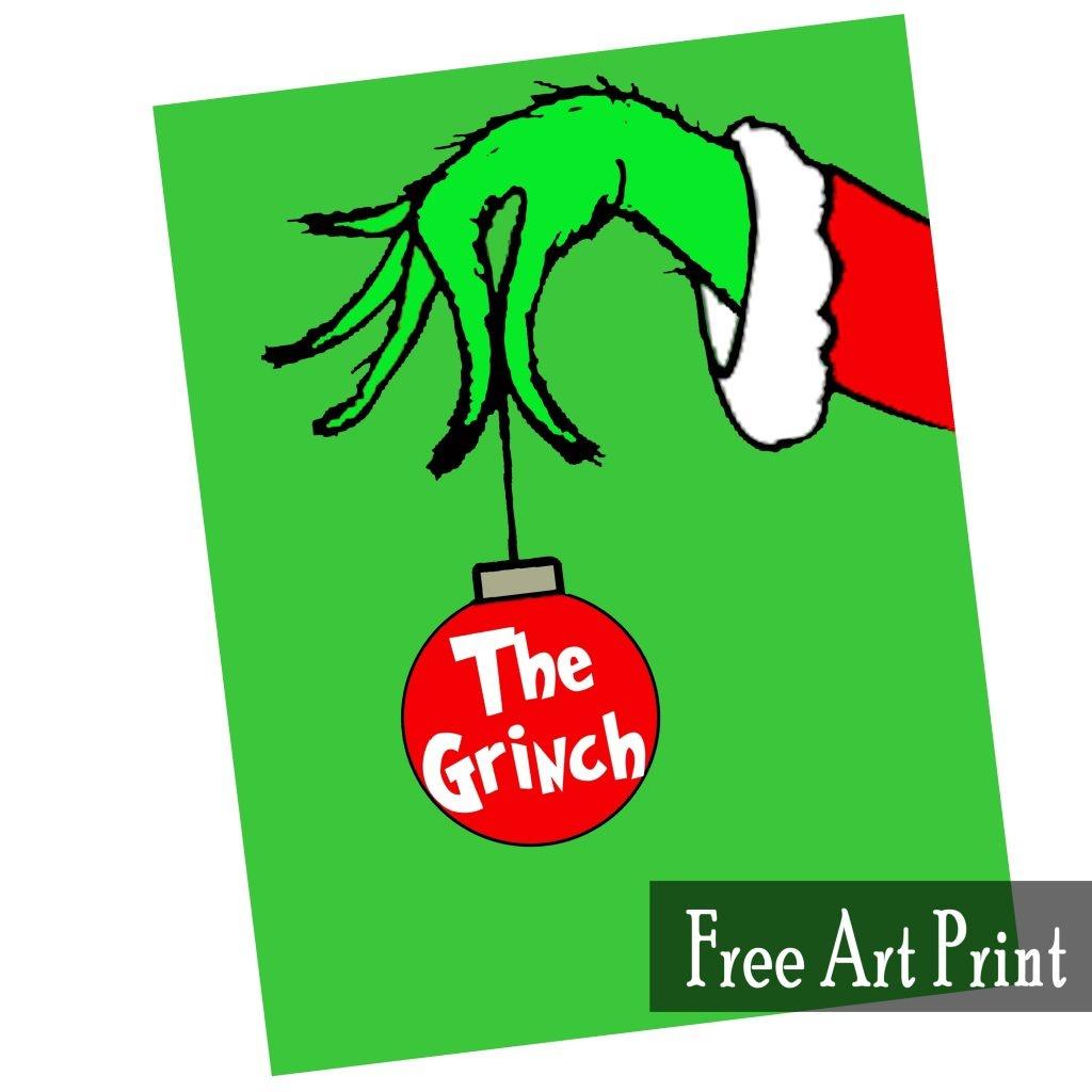 Free Grinch Printables