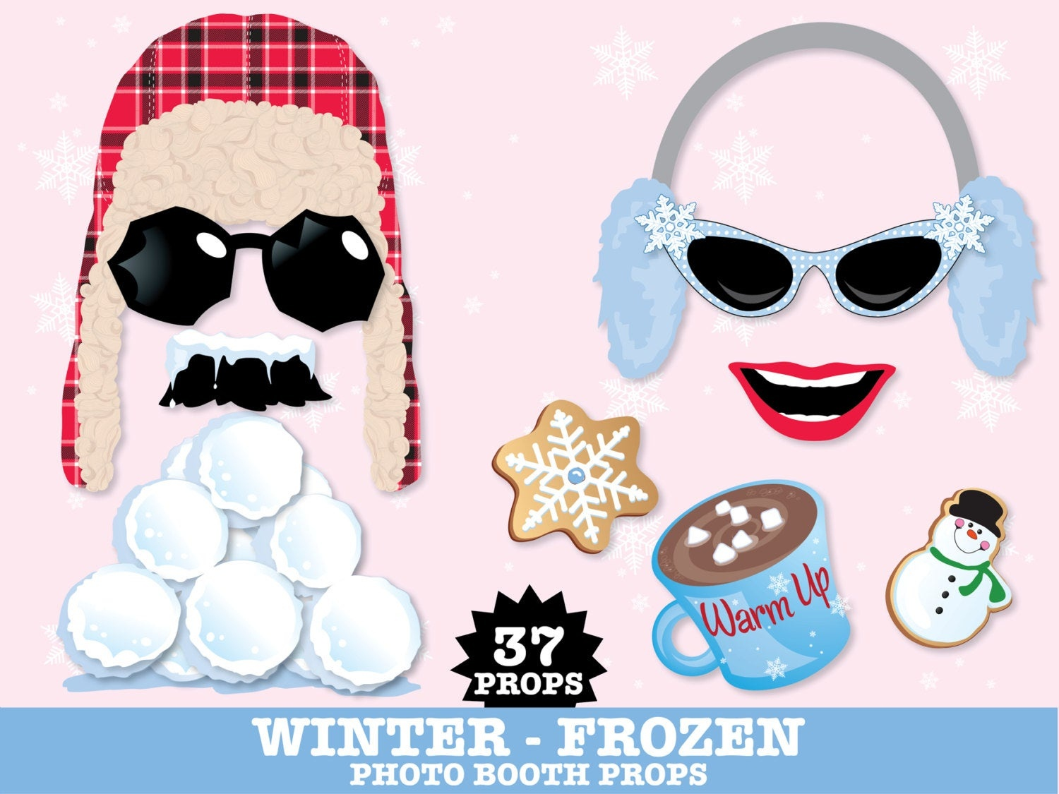 Free Printable Frozen Photo Booth Props