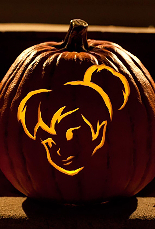 Free Pumpkin Carving Patterns Disney Printable