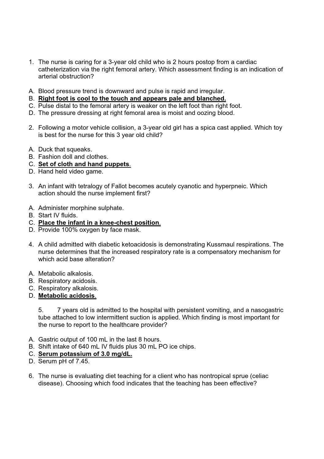 Free Printable Hesi Study Guide