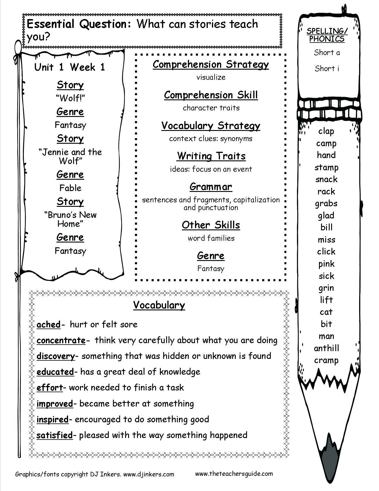 Free Printable Itbs Practice Worksheets
