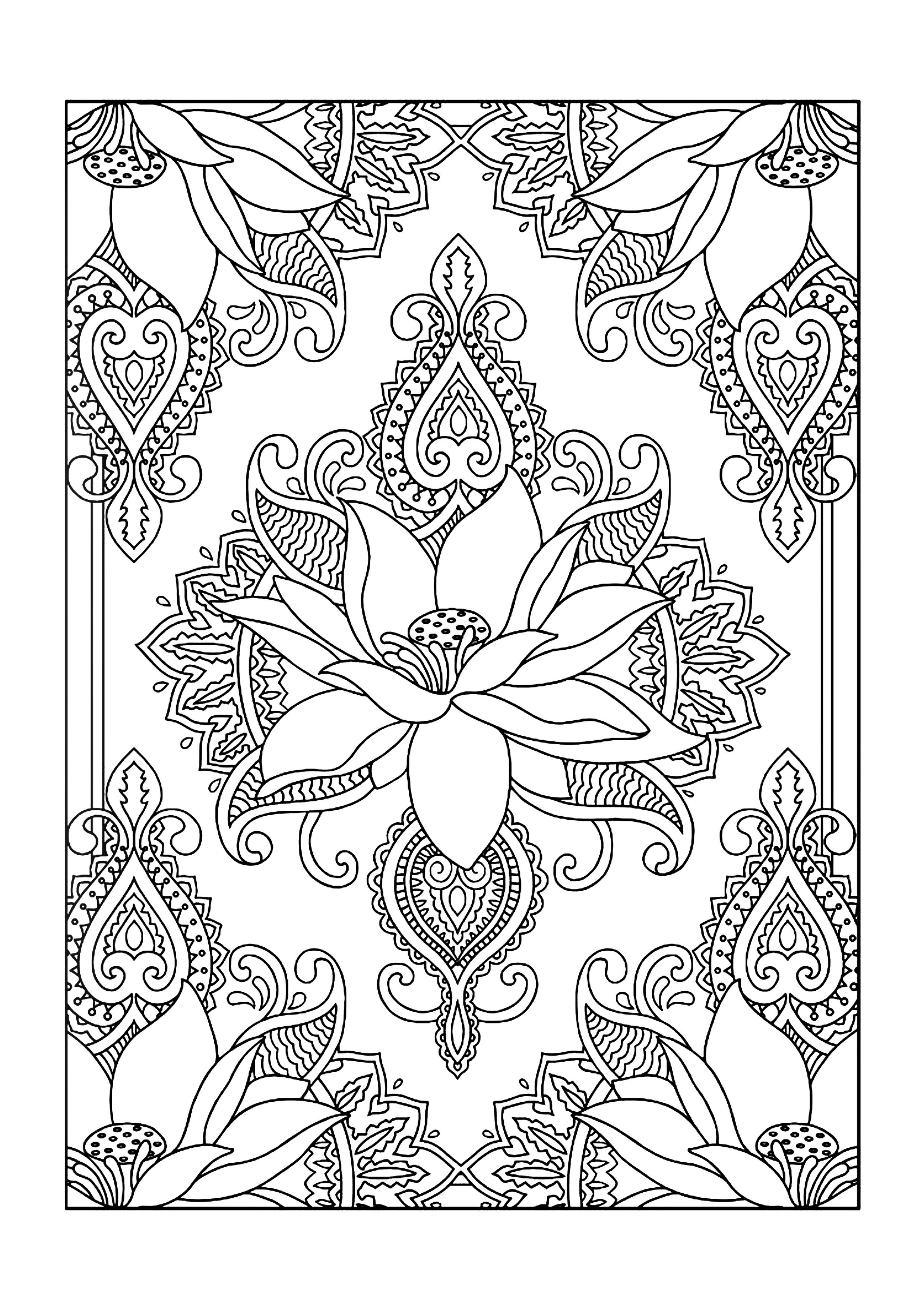 Free Printable Coloring Designs For Adults