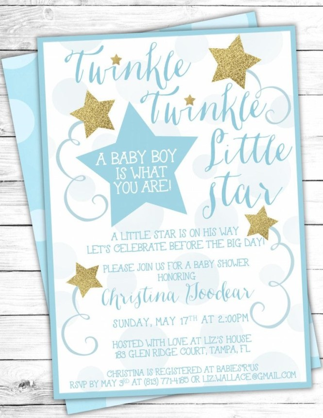 Free Printable Le Little Star Baby Shower