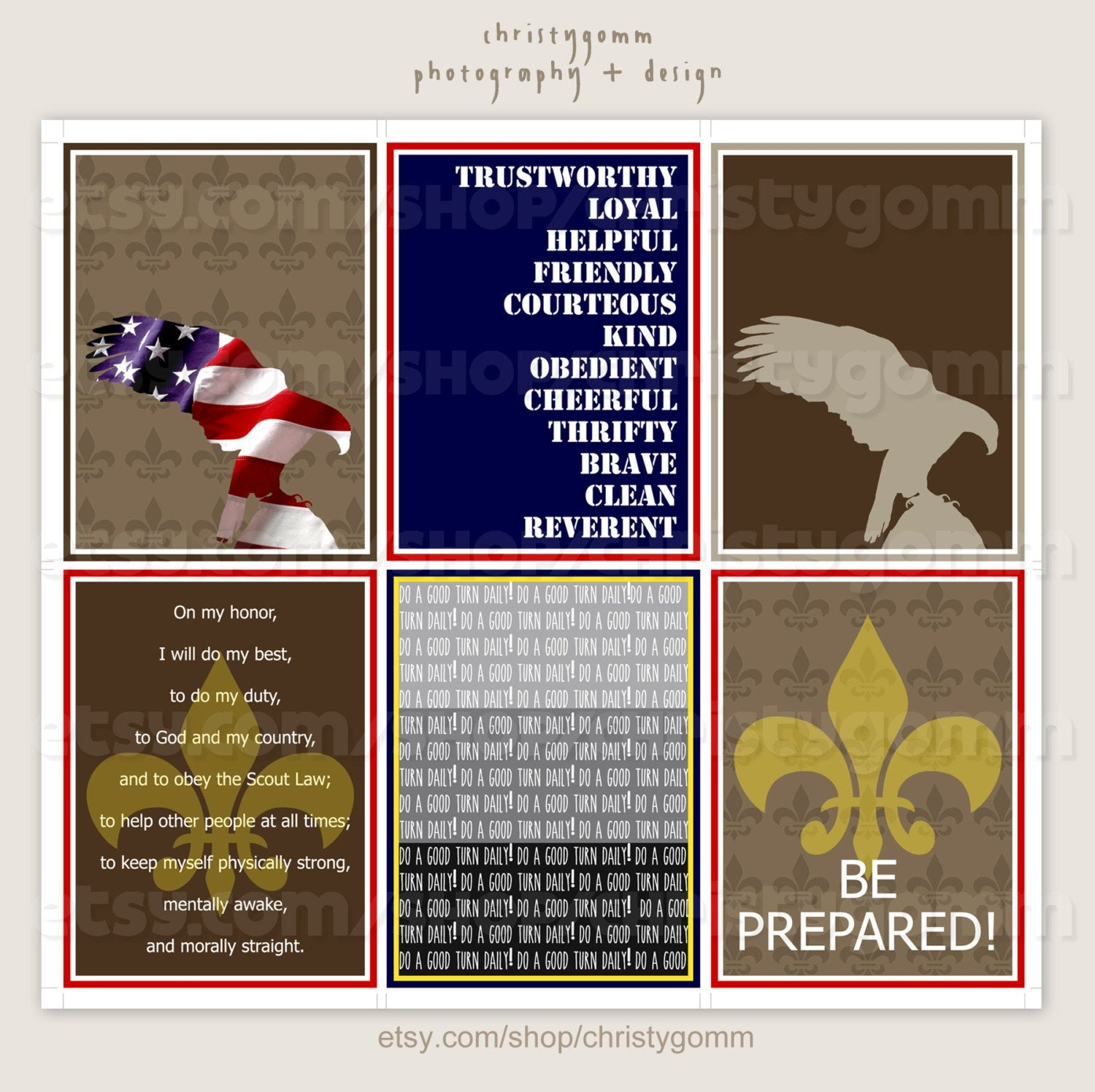 Eagle Scout Cards Free Printable