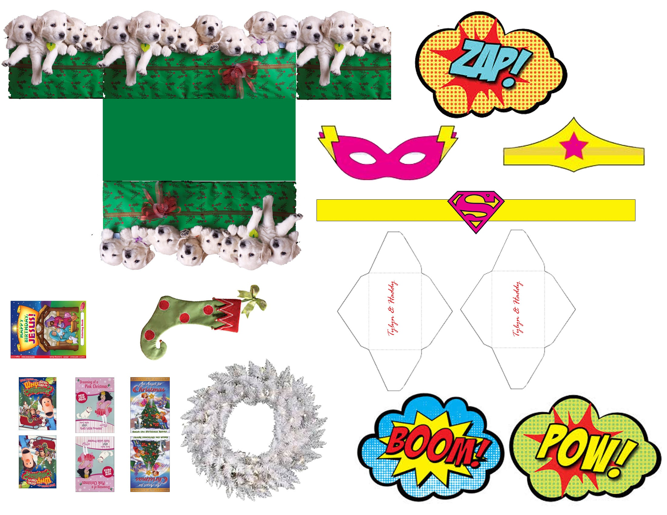 Elf On The Shelf Printable Props Free