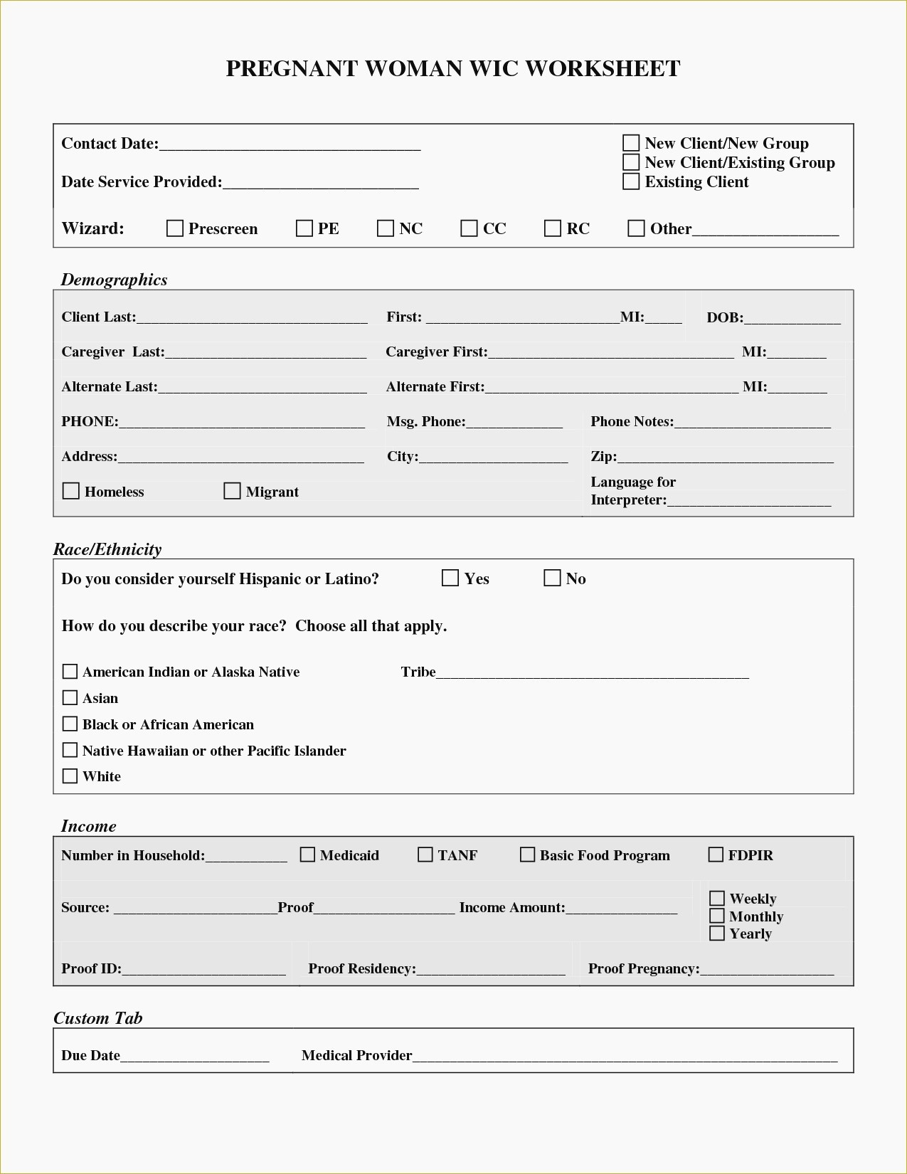 Free Printable Fake Pregnancy Papers