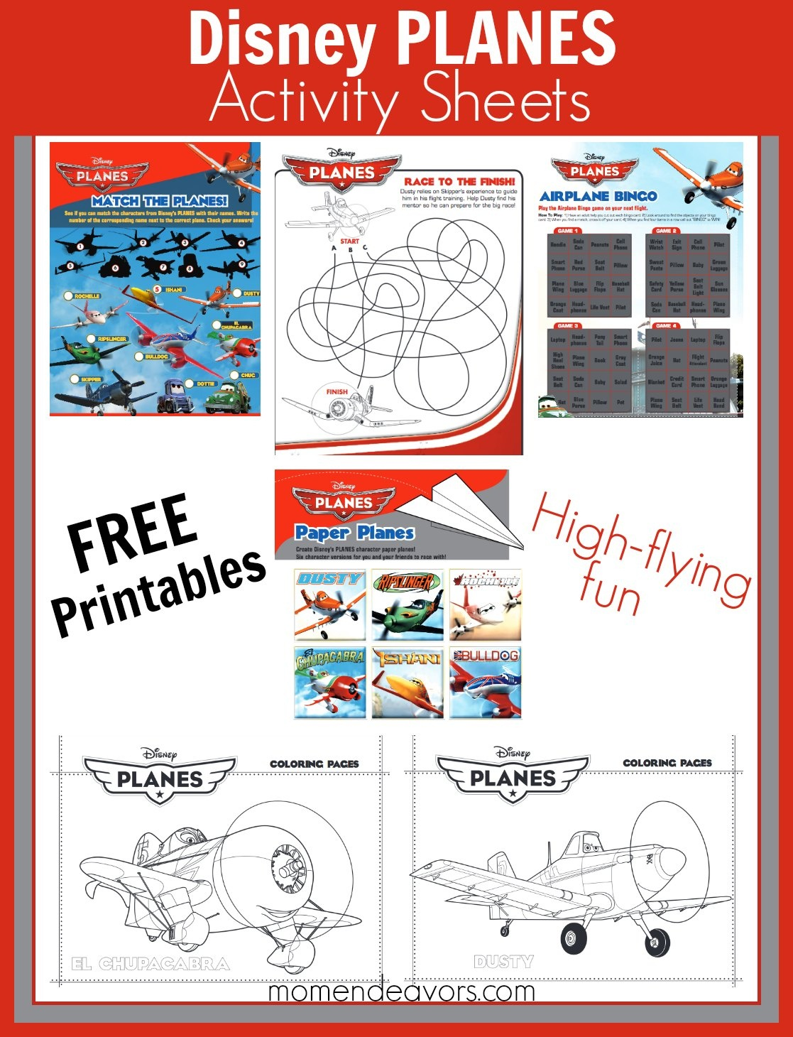 Free Disney Activity Printables