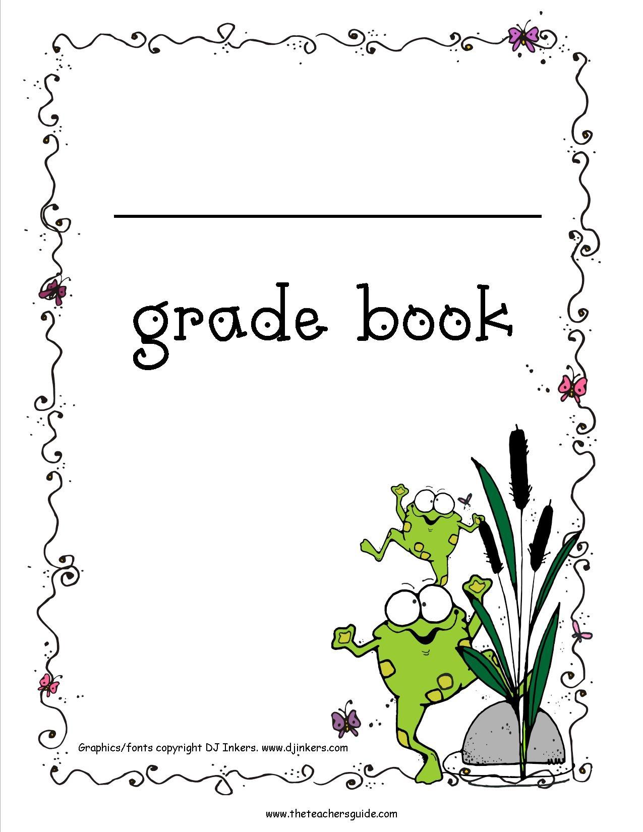 Free Printable Gradebook Sheets For Teachers