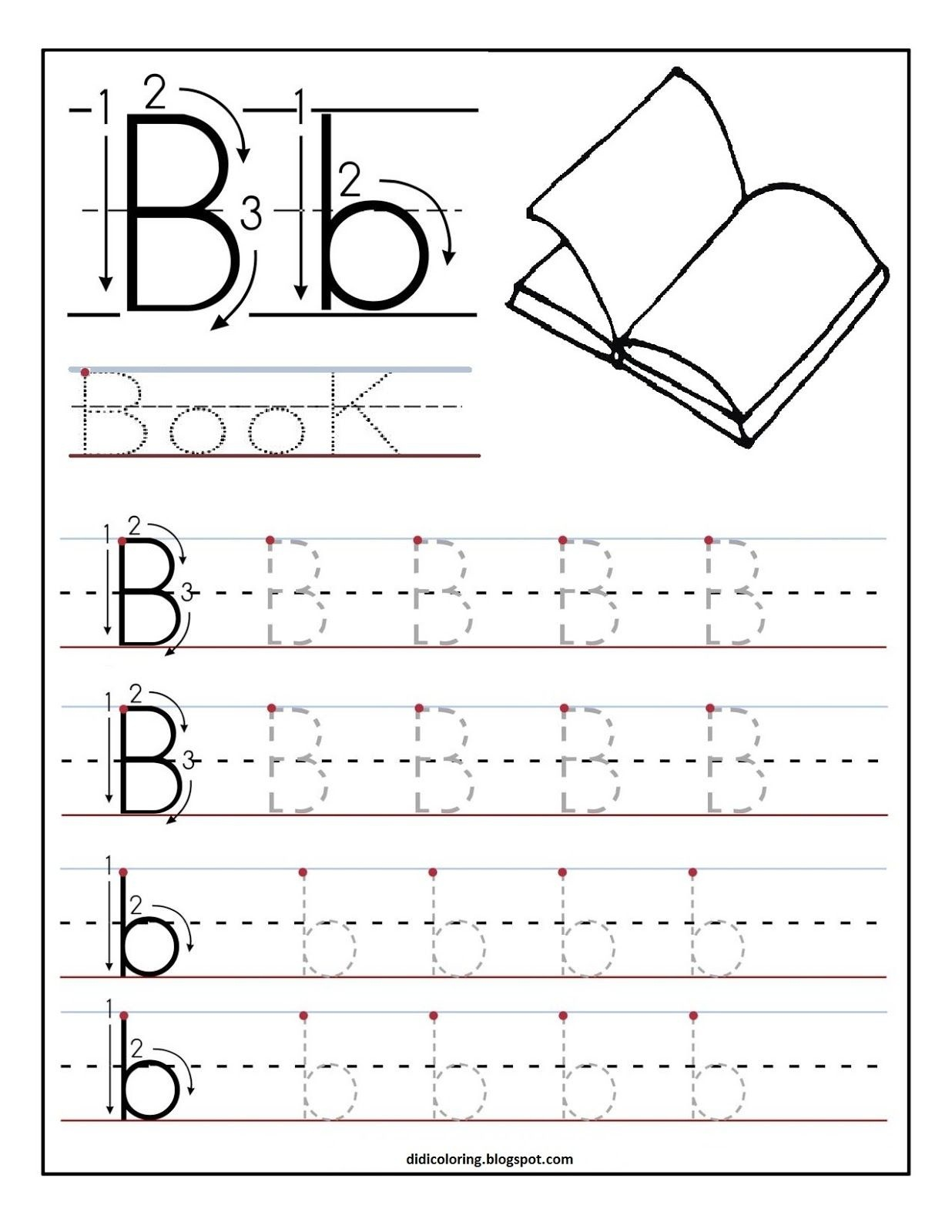 Learning To Write Letters Free Printables