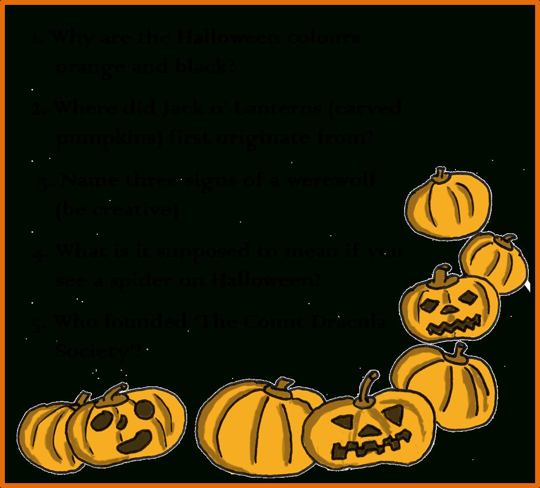 Free Printable Halloween Quiz
