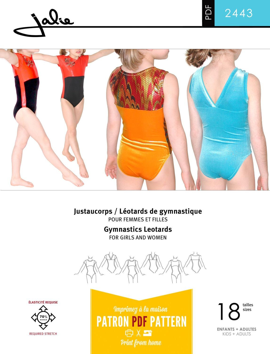 Free Printable Leotard Pattern