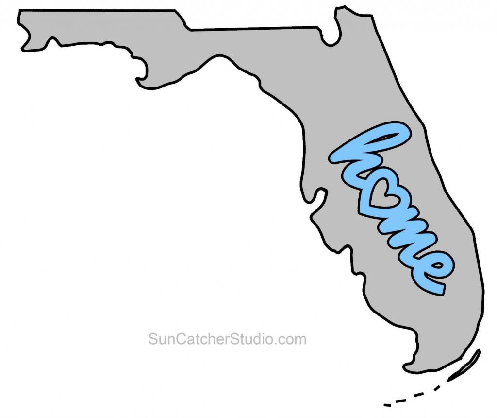 Blank Florida Map